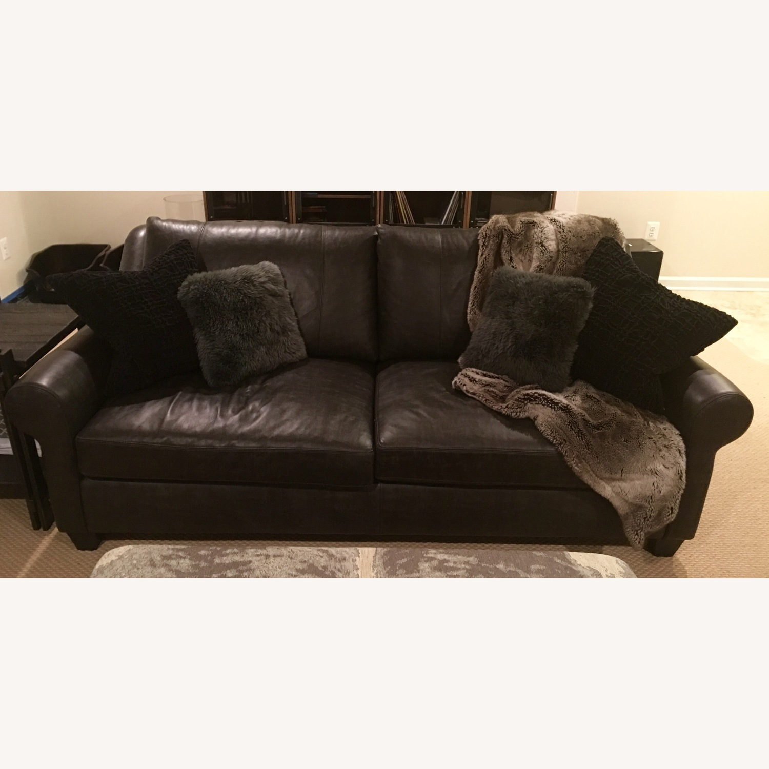 Arhaus Rockway Leather Sofa - image-6