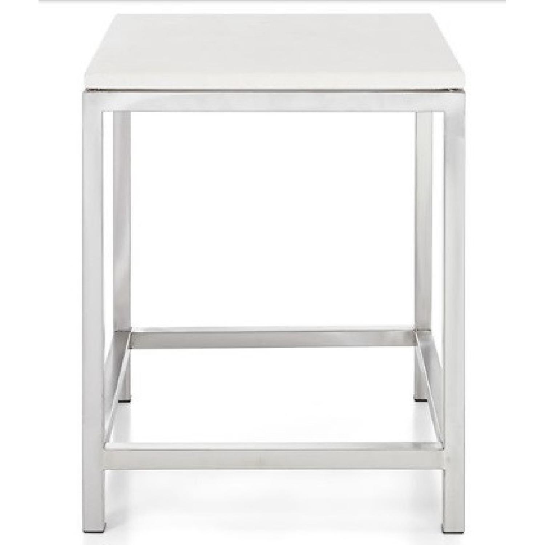 Crate & Barrel Era End Tables - image-0