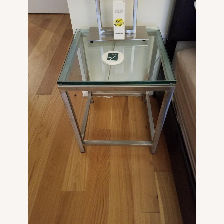 Crate & Barrel Era End Tables - image-1
