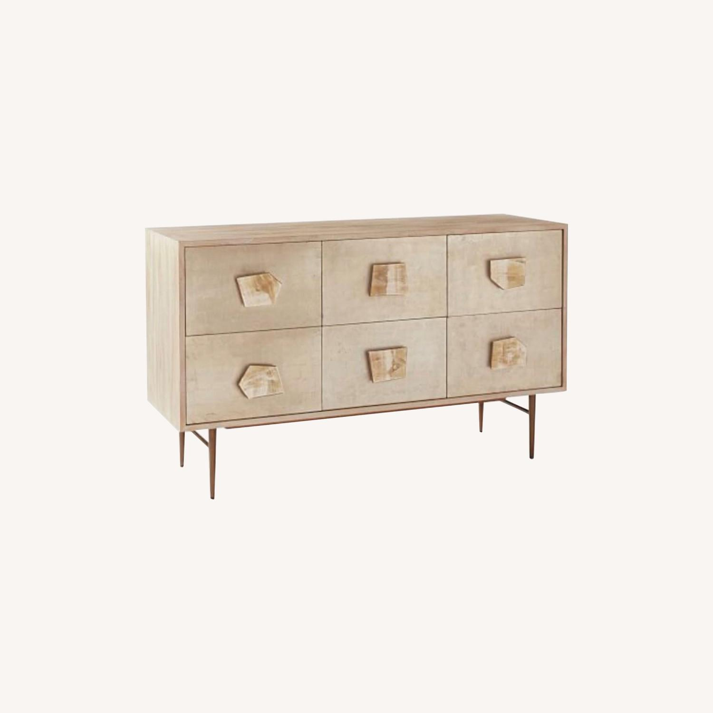 West Elm Roar & Rabbit Jeweled 6-Drawer Dresser - image-6