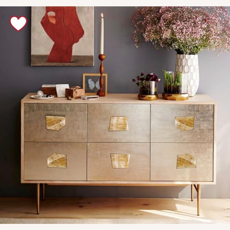 West Elm Roar & Rabbit Jeweled 6-Drawer Dresser - image-1