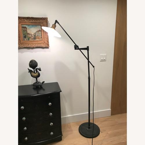 Used Pottery Barn Tilt Floor Lamp for sale on AptDeco