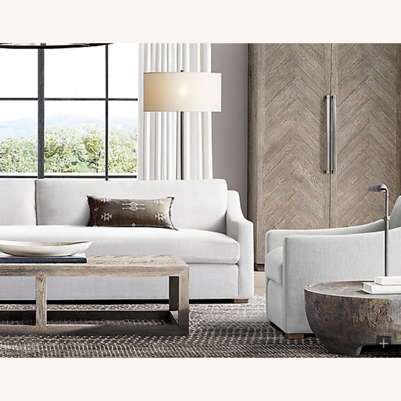Restoration Hardware Slope Arm Sofa - image-10
