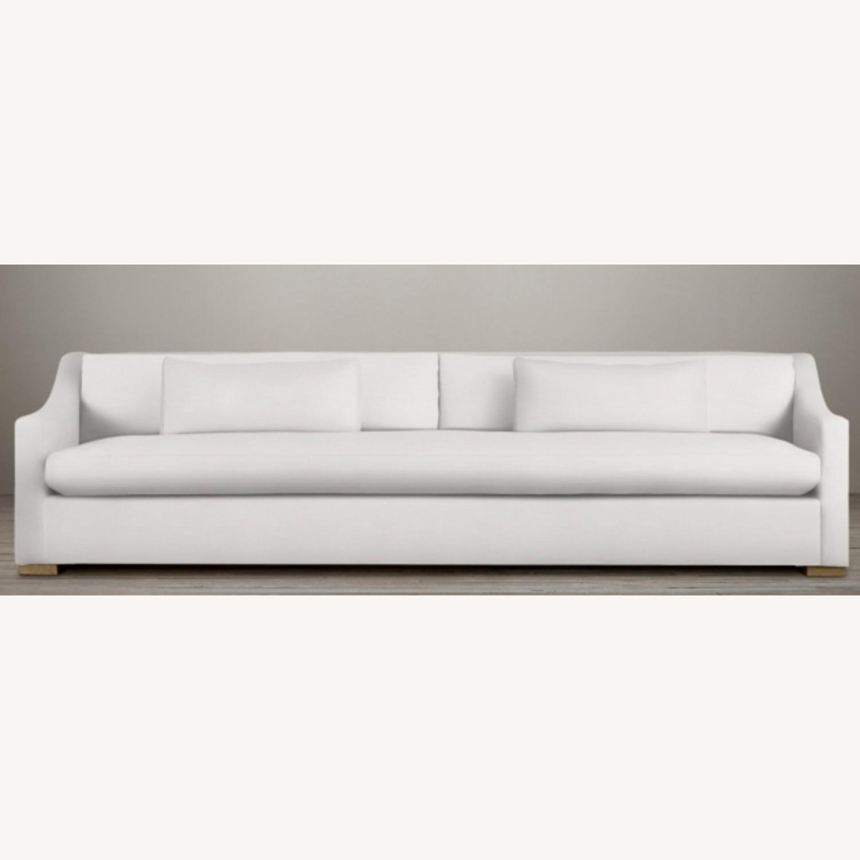 Restoration Hardware Slope Arm Sofa - image-7