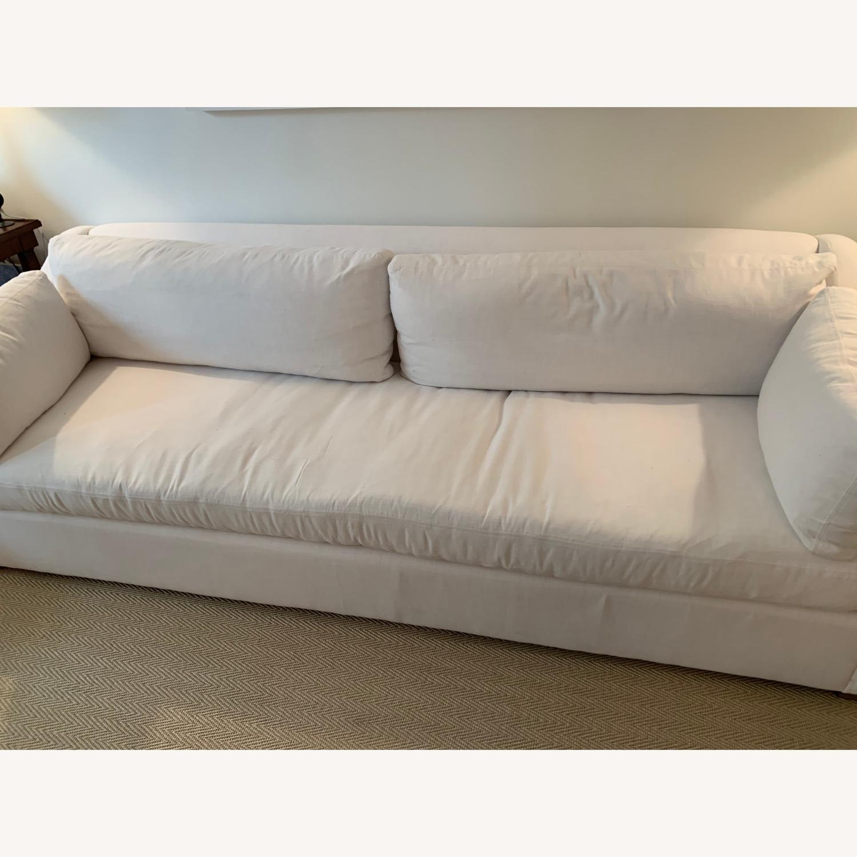 Restoration Hardware Slope Arm Sofa - image-3