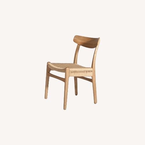 Used Hans Wegner Rattan Side Chair for sale on AptDeco