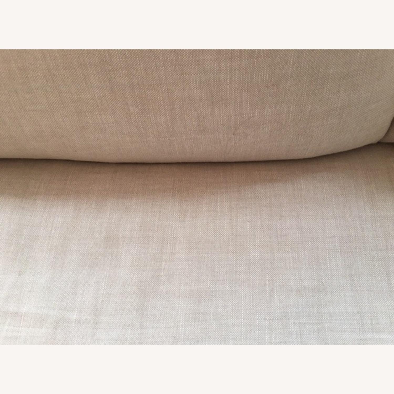 Restoration Hardware Belgian Slipcovered Sofa - image-7