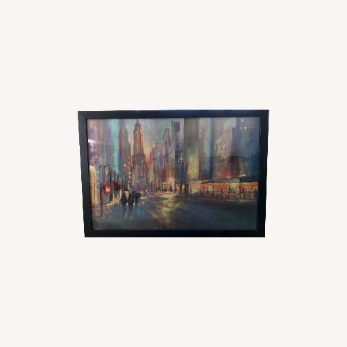 Used ZGallerie Cityscapes Framed Art for sale on AptDeco