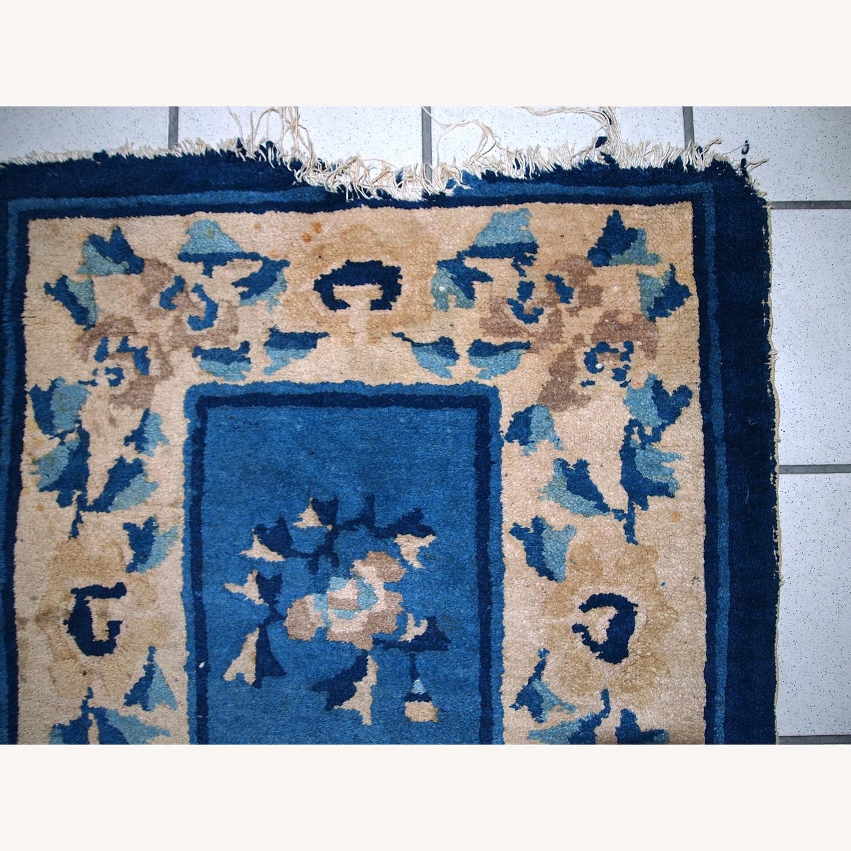 Handmade Antique Peking Chinese Rug - image-9