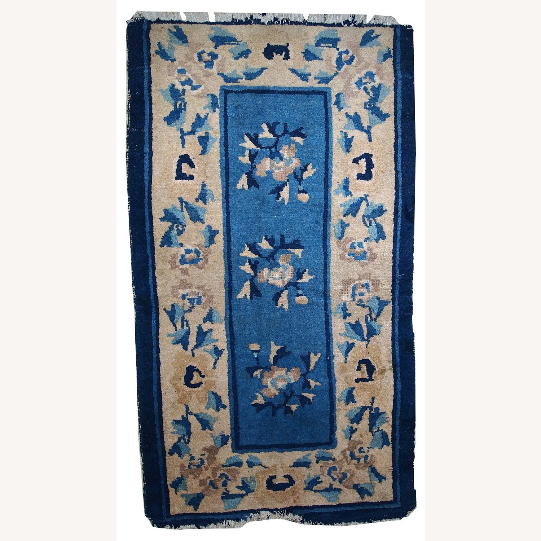 Handmade Antique Peking Chinese Rug - image-1