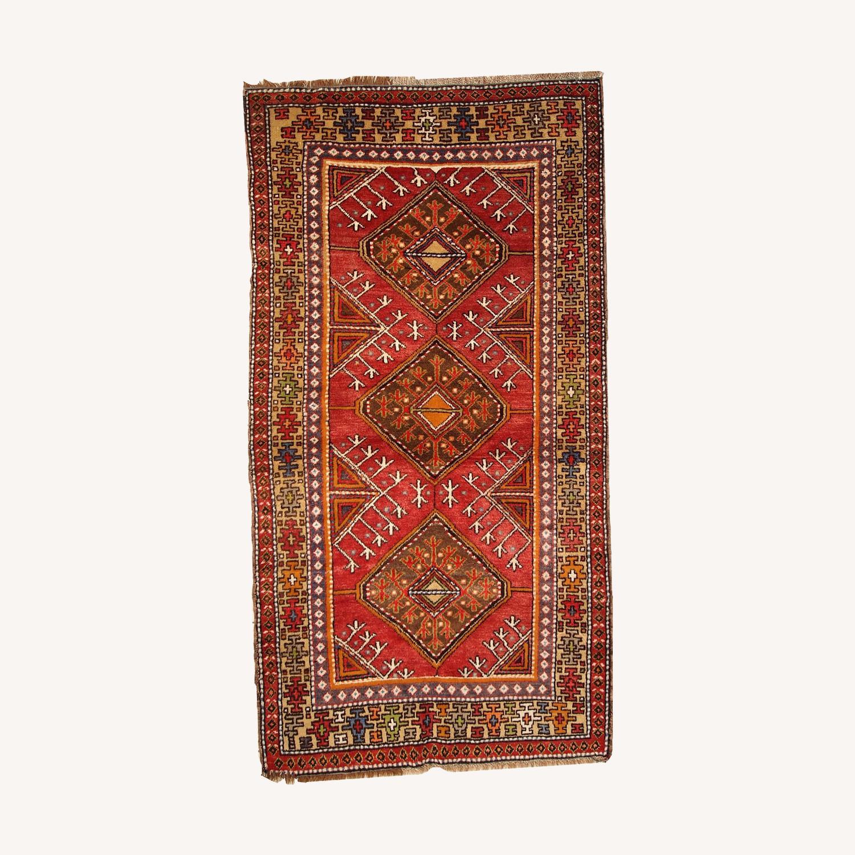 Hand made Antique Turkish Anatolian Rug - image-0