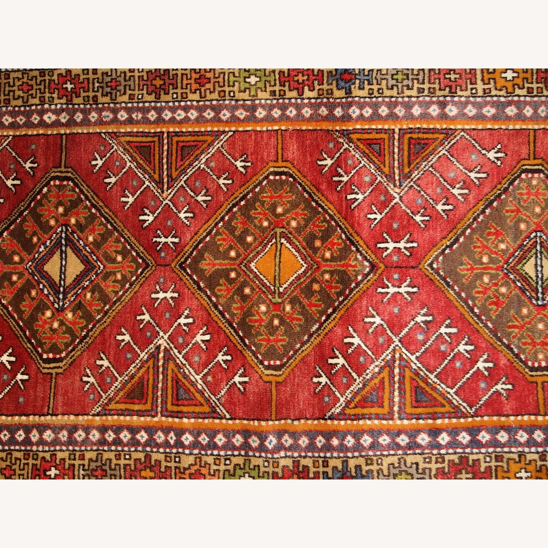 Hand made Antique Turkish Anatolian Rug - image-3