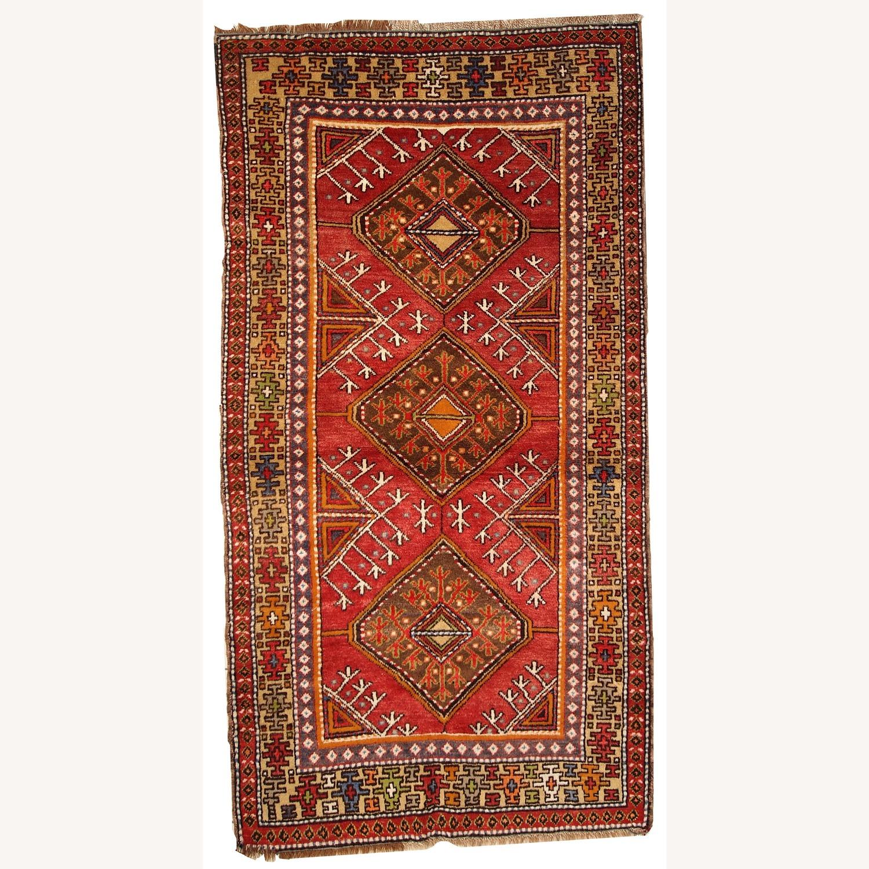 Hand made Antique Turkish Anatolian Rug - image-1