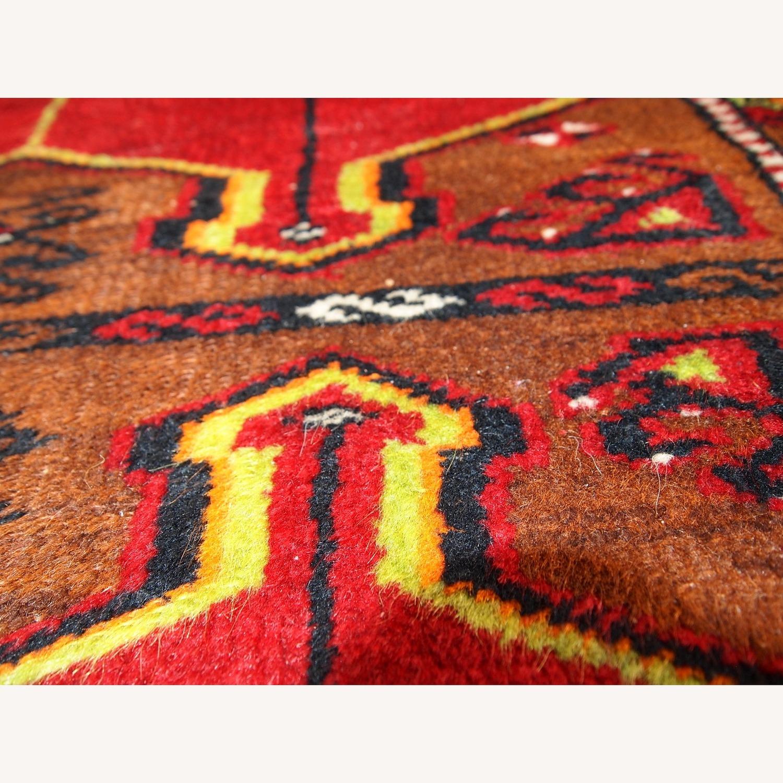 Hand made Antique Collectible Turkish Yastik Rug - image-9