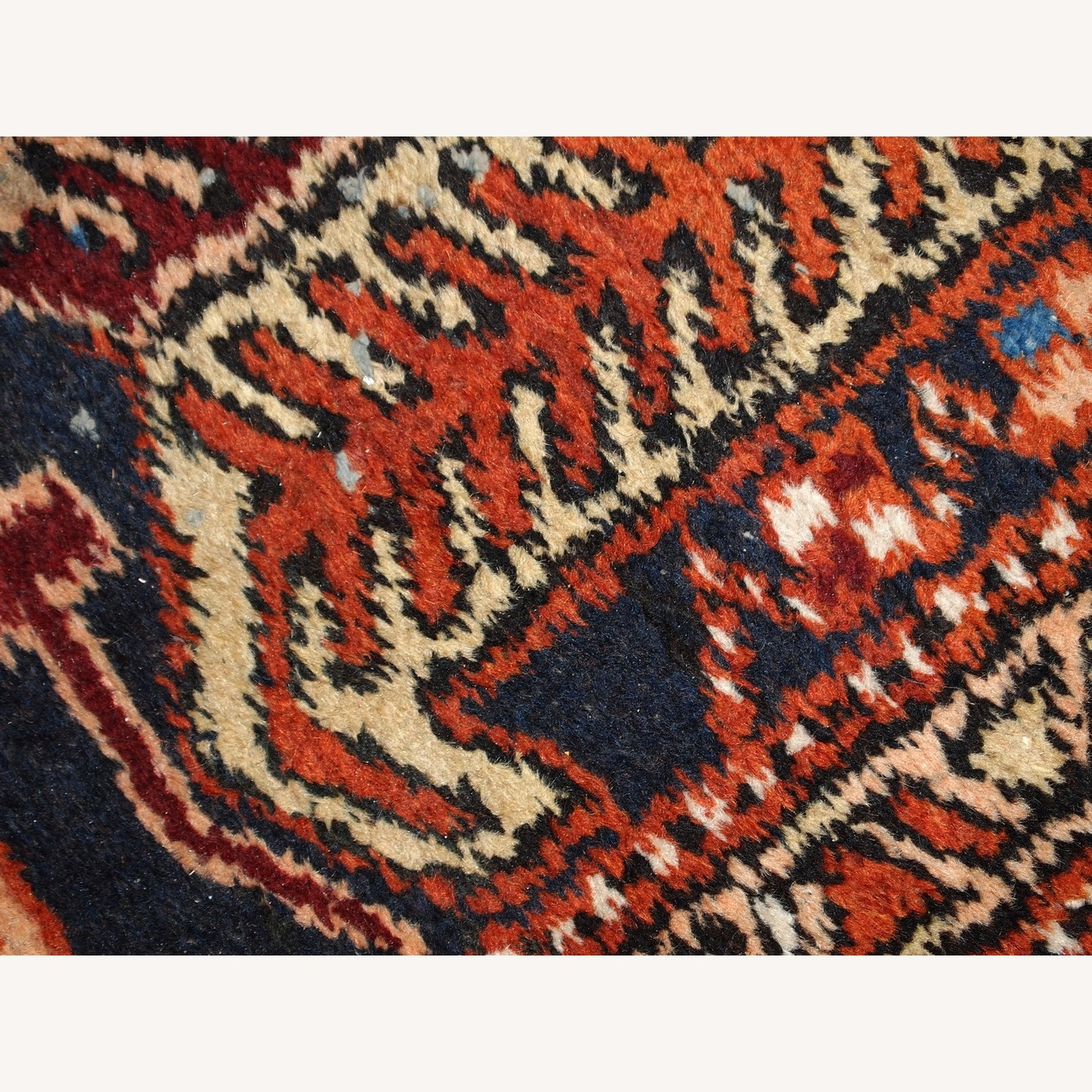 Handmade Antique Persian Heriz Runner - image-4