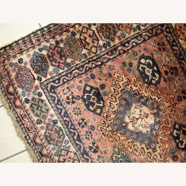 Handmade Antique Persian Kurdish Bag Face - image-9