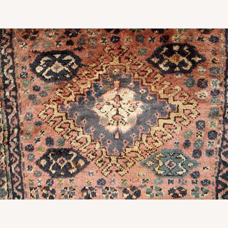Handmade Antique Persian Kurdish Bag Face - image-5