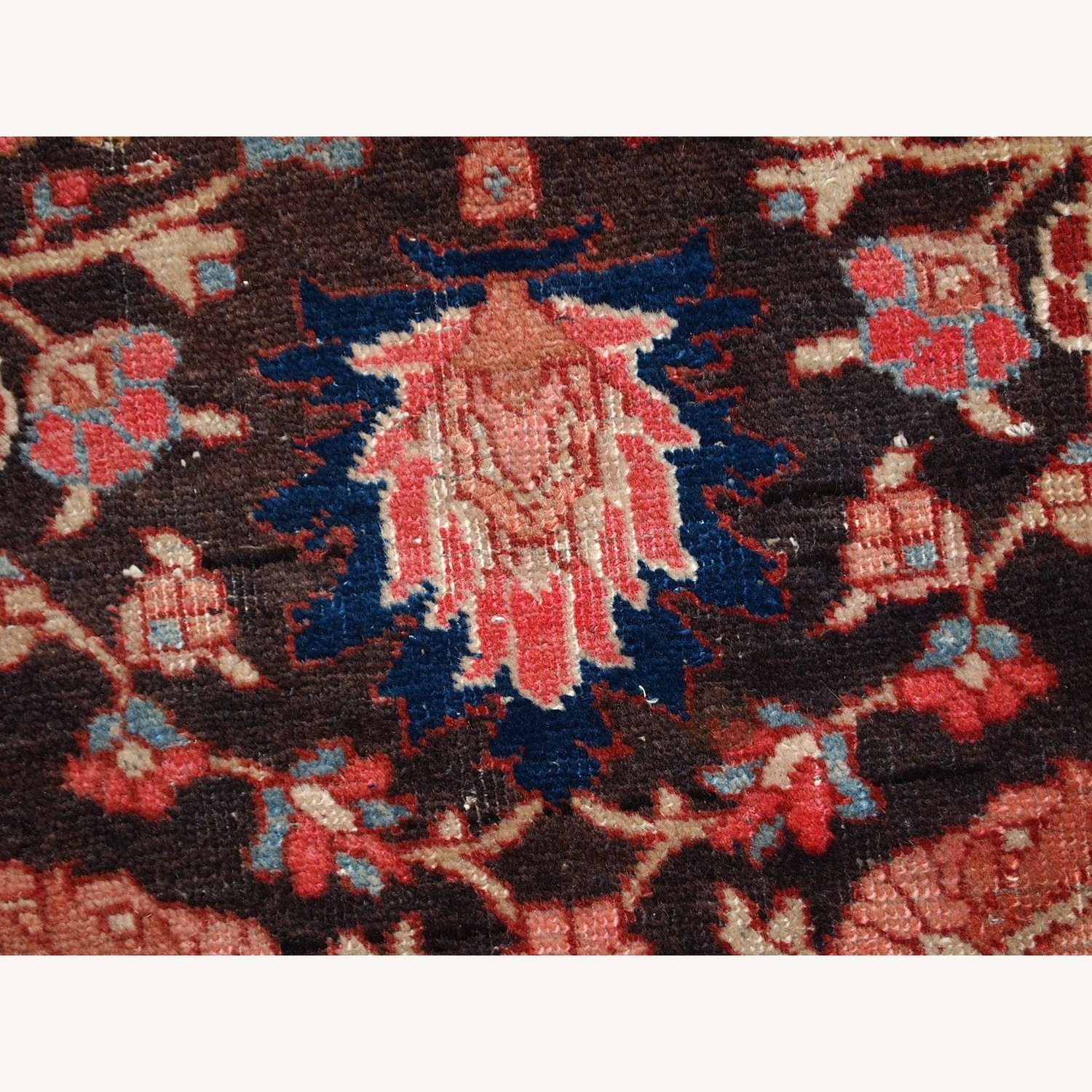 Handmade Antique Persian Bidjar Rug - image-4