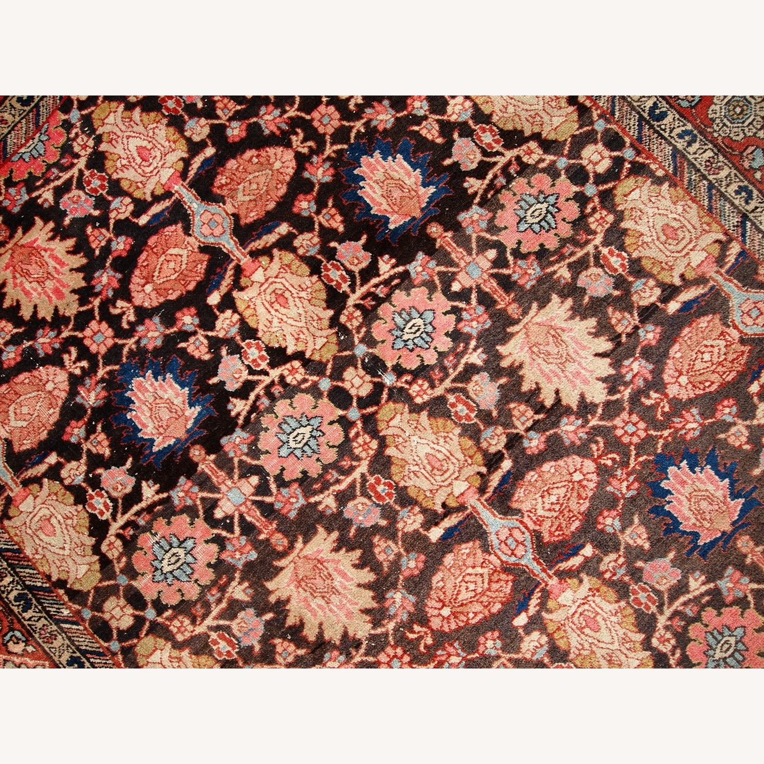 Handmade Antique Persian Bidjar Rug - image-15