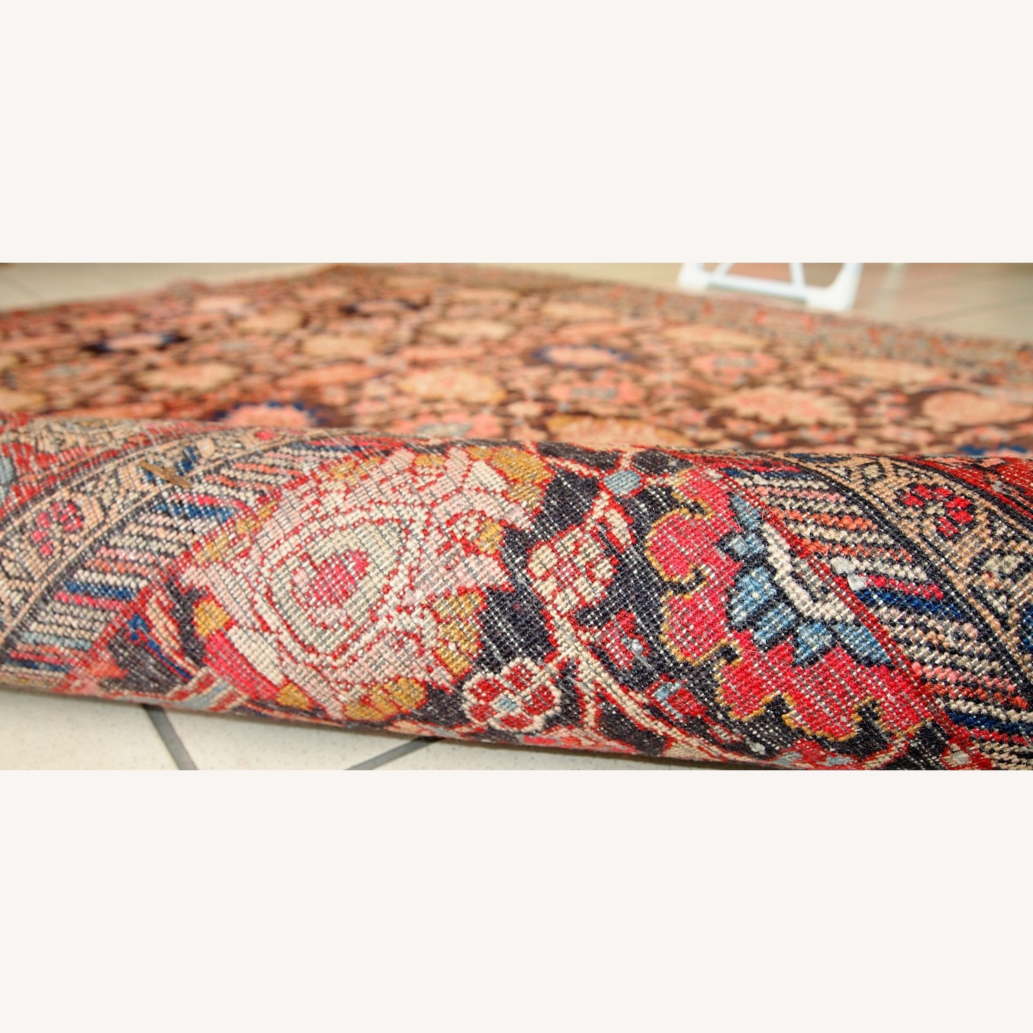Handmade Antique Persian Bidjar Rug - image-2