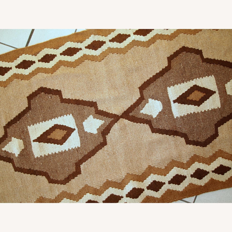 Handmade Antique Persian Ardabil Kilim - image-4