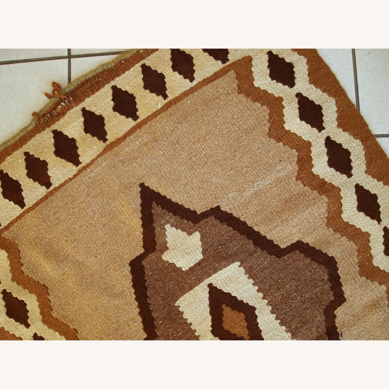 Handmade Antique Persian Ardabil Kilim - image-9