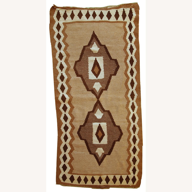 Handmade Antique Persian Ardabil Kilim - image-1