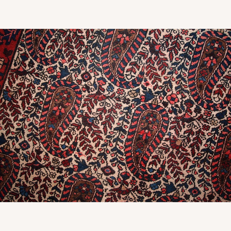 Handmade Vintage Persian Malayer Rug - image-14