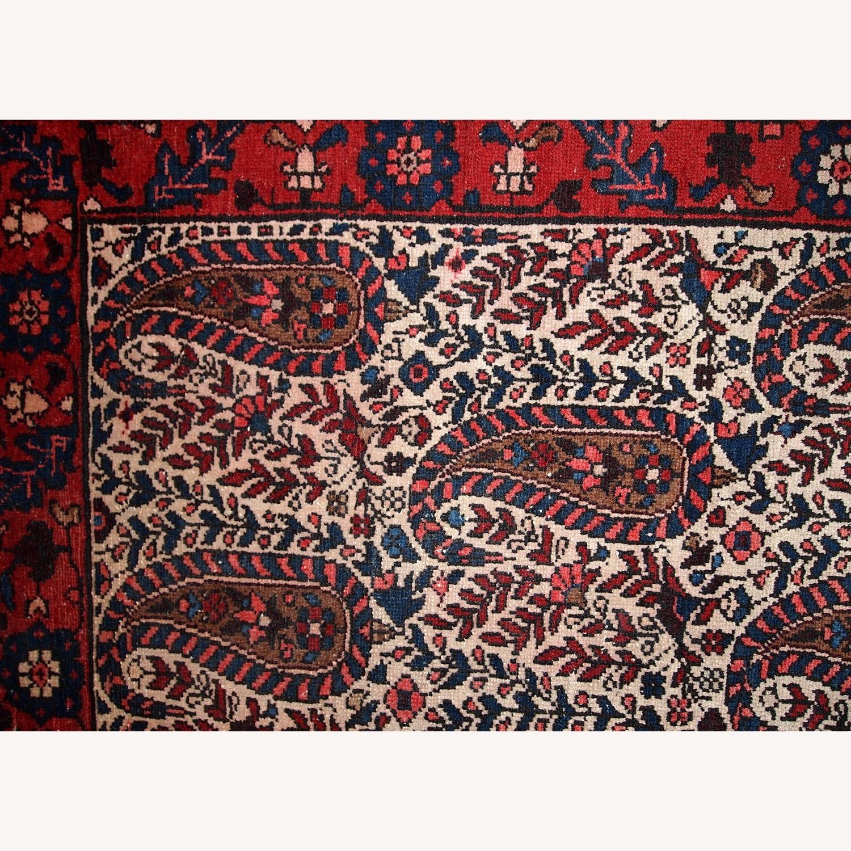 Handmade Vintage Persian Malayer Rug - image-12