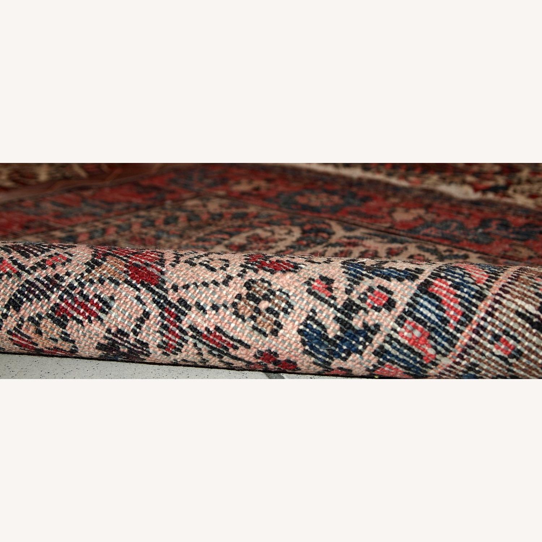 Handmade Vintage Persian Malayer Rug - image-4