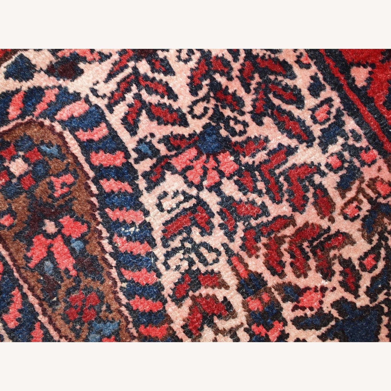 Handmade Vintage Persian Malayer Rug - image-10