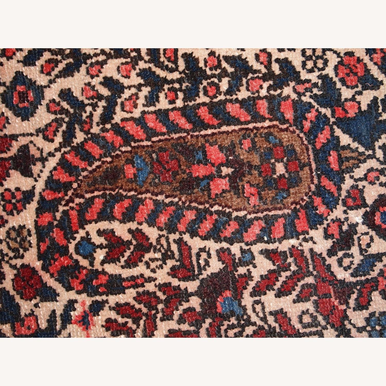 Handmade Vintage Persian Malayer Rug - image-7