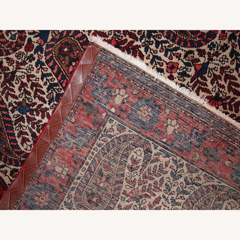Handmade Vintage Persian Malayer Rug - image-5