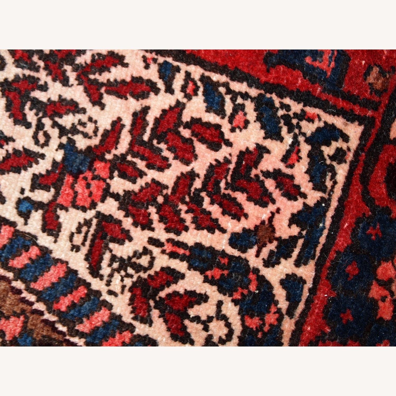 Handmade Vintage Persian Malayer Rug - image-3