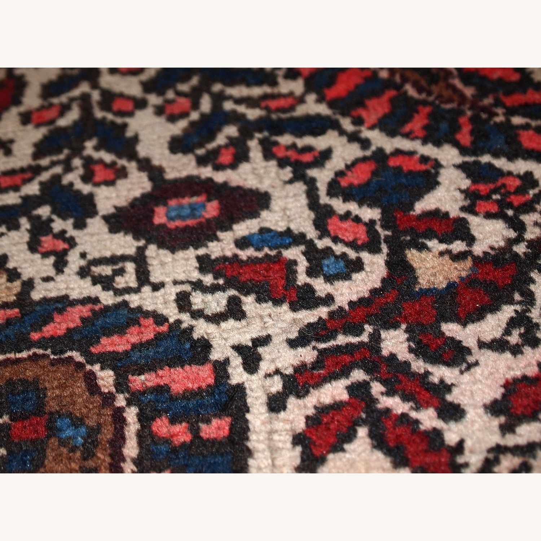 Handmade Vintage Persian Malayer Rug - image-8