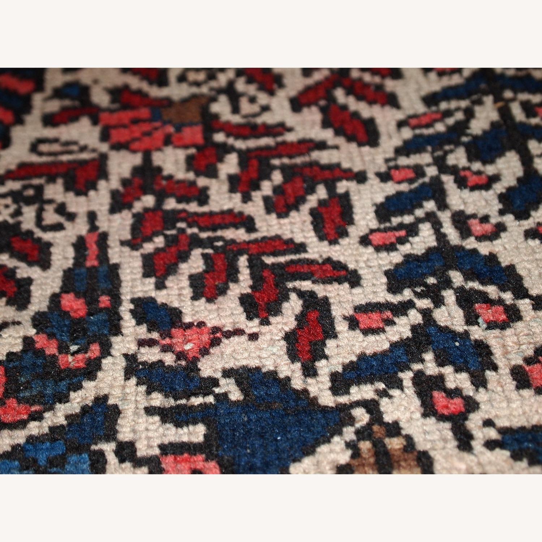 Handmade Vintage Persian Malayer Rug - image-13
