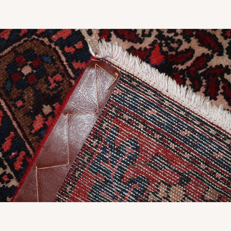 Handmade Vintage Persian Malayer Rug - image-2