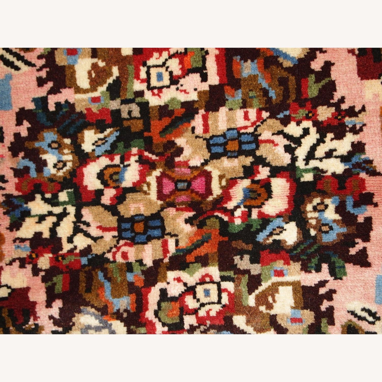 Handmade Vintage Persian Bakhtiari Rug - image-5