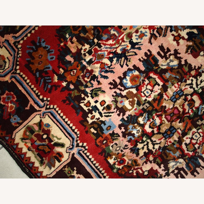 Handmade Vintage Persian Bakhtiari Rug - image-8