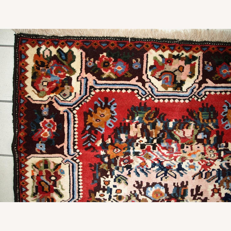 Handmade Vintage Persian Bakhtiari Rug - image-10