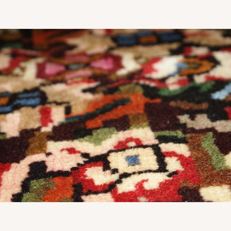 Handmade Vintage Persian Bakhtiari Rug - image-2