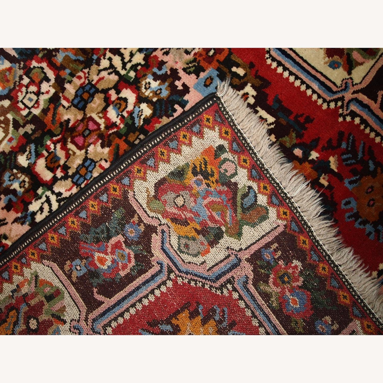 Handmade Vintage Persian Bakhtiari Rug - image-3