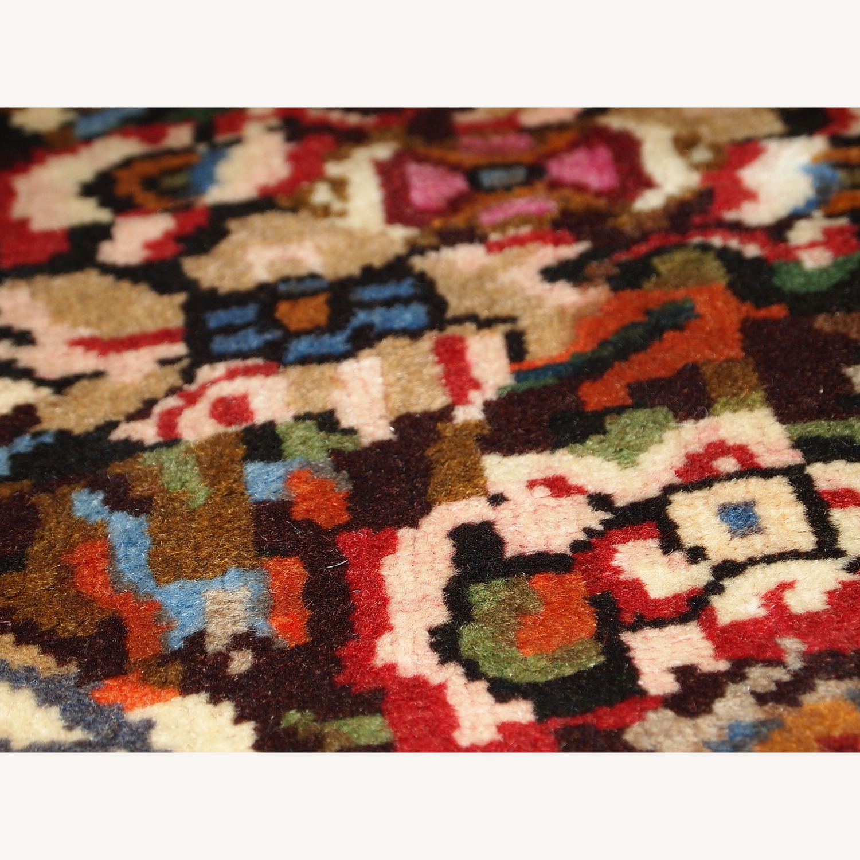 Handmade Vintage Persian Bakhtiari Rug - image-6