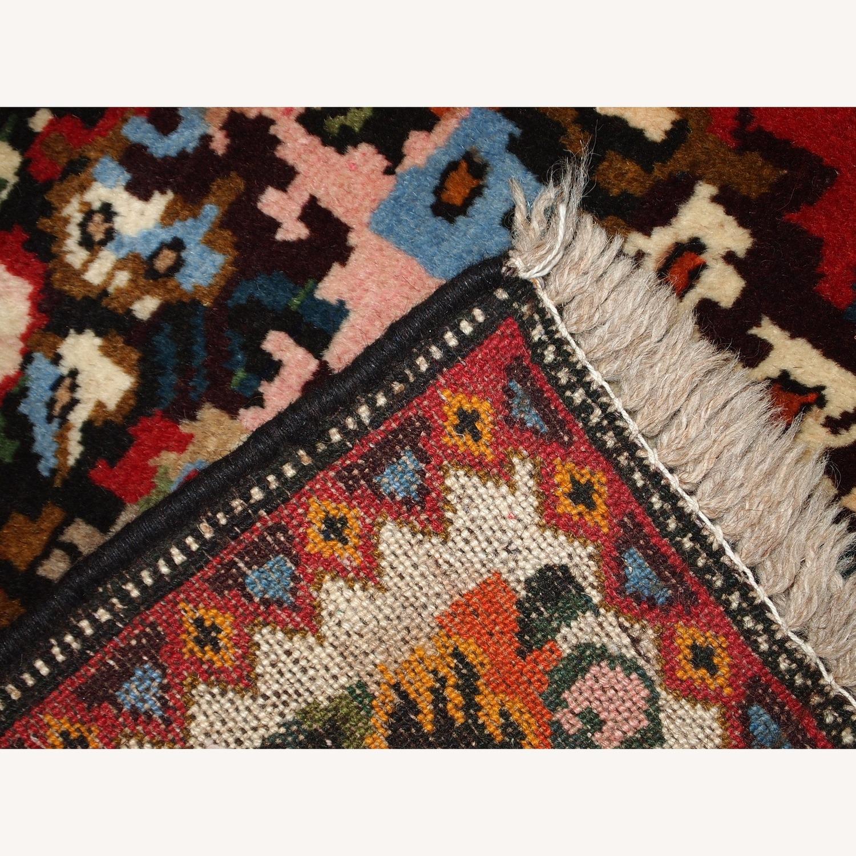 Handmade Vintage Persian Bakhtiari Rug - image-12