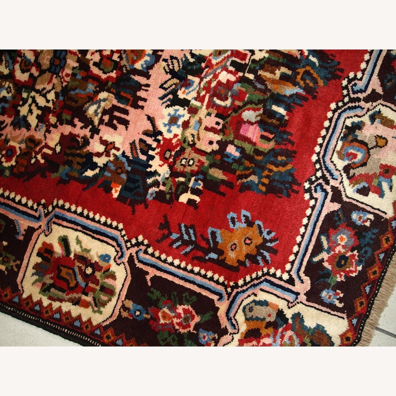Handmade Vintage Persian Bakhtiari Rug - image-13