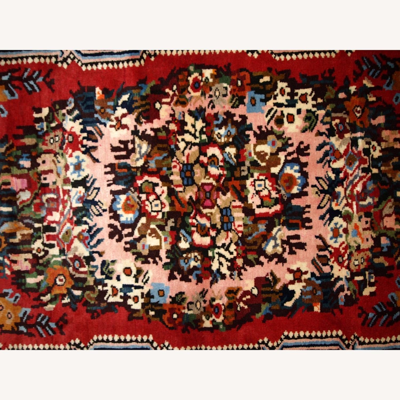 Handmade Vintage Persian Bakhtiari Rug - image-11