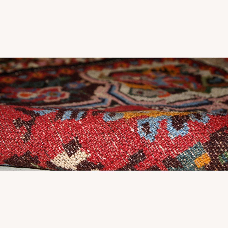 Handmade Vintage Persian Bakhtiari Rug - image-4