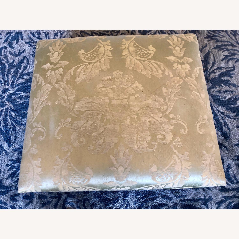 Anichini Silk Storage Ottoman - image-5
