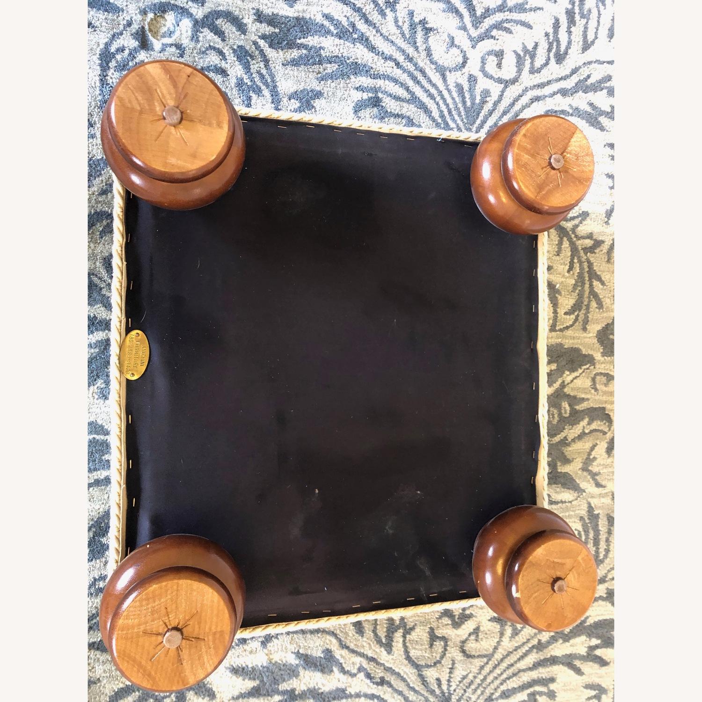 Anichini Silk Storage Ottoman - image-3