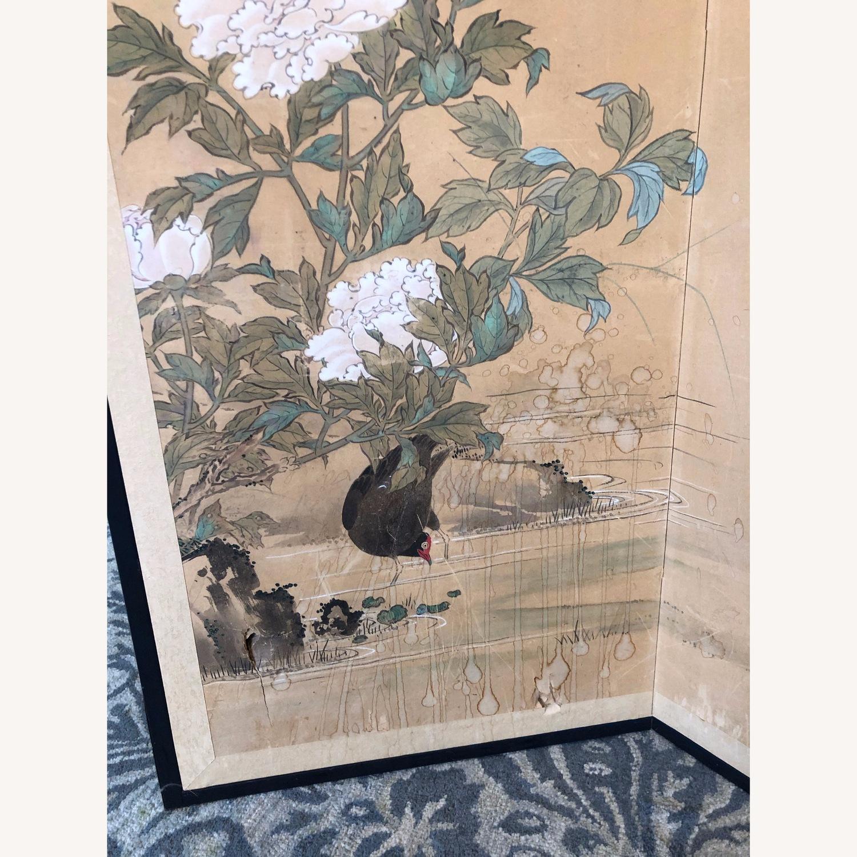 Vintage Japanese Rice Paper Screen - image-2